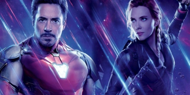 Avengers Endgame Iron Man Black Widow