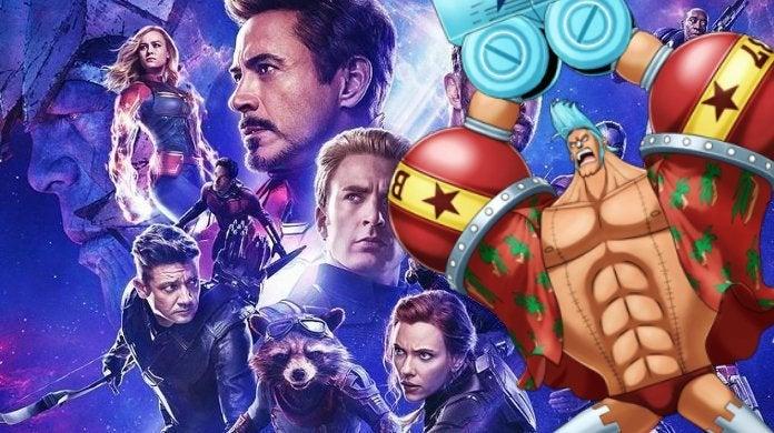Avengers Endgame One Piece Franky