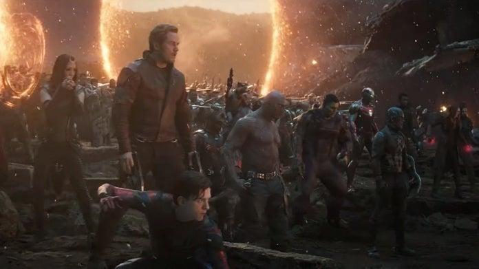 Avengers Endgame portals