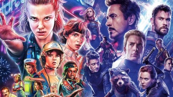 Avengers Endgame Stranger Things comicbookcom