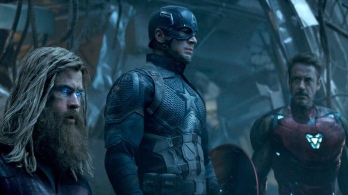 Avengers Endgame trinity