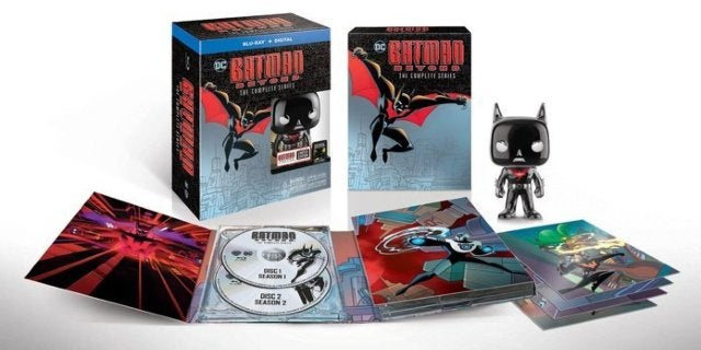 The Batman Beyond Complete Series Blu-ray Box Set is Cheaper Than Ever