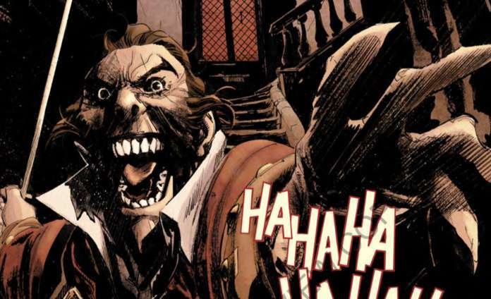 Batman Curse of the White Knight #1 Review 1