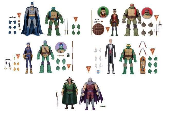 Sdcc 2019 Batman Vs Tmnt Figure Packs Are Available Now