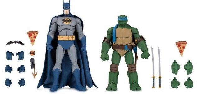 SDCC 2019 Batman vs. TMNT Figure Packs Are Available Now