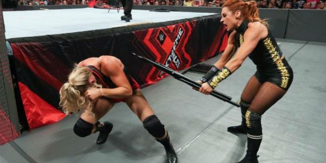 Video: Becky Lynch Gets a Nasty Bruise After Chair Spot at Extreme Rules