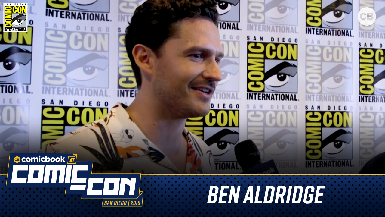 Ben Aldridge Talks Pennyworth - San Diego Comic-Con 2019 Interview screen capture