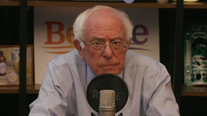 Bernie Sanders Twitch Prime Day Amazon