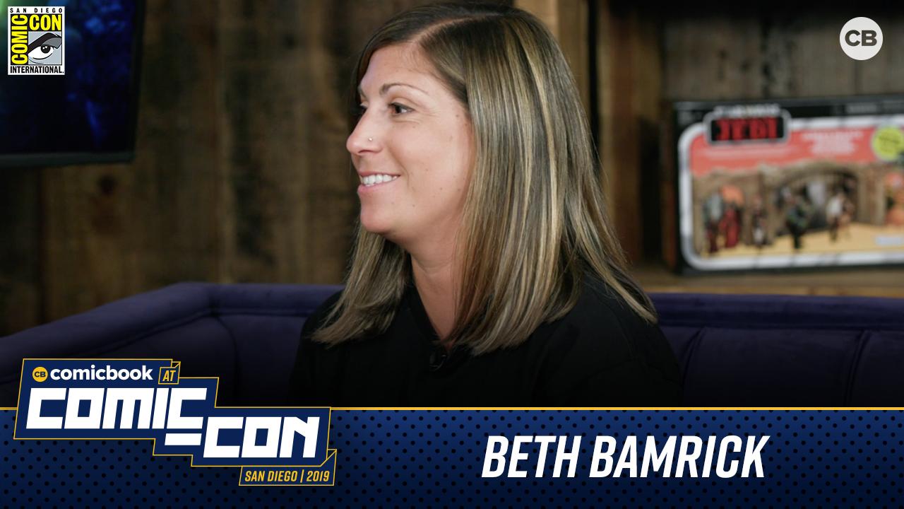 Beth Bamrick Talks Hasbro Power Rangers - San Diego Comic-Con 2019 Interview screen capture