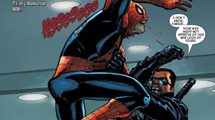 Blade MCU Crossover - Spider-Man