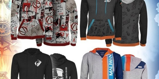 Borderlands 3 Gets an Official Hoodie Collection