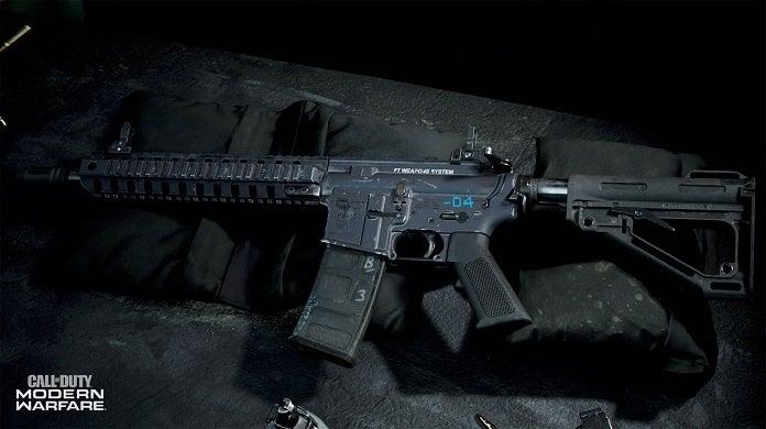 Call of Duty Modern Warfare Gunsmithing