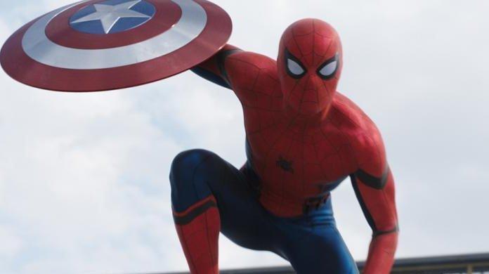 captain america civil war spider-man far from home
