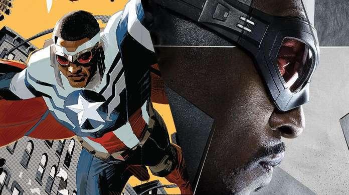 Captain America Sam Wilson Falcon