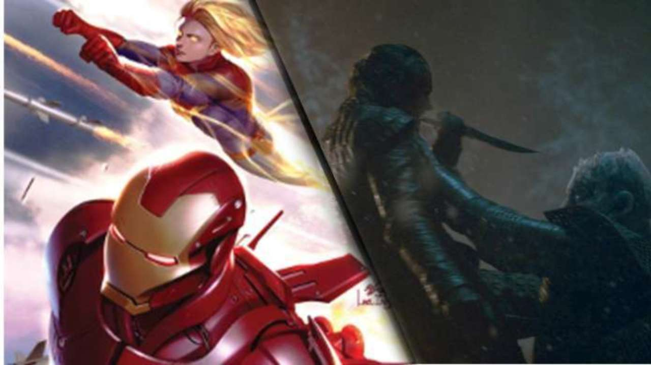 Iron Man and Captain Marvel Clash Over Game of Thrones Spoilers