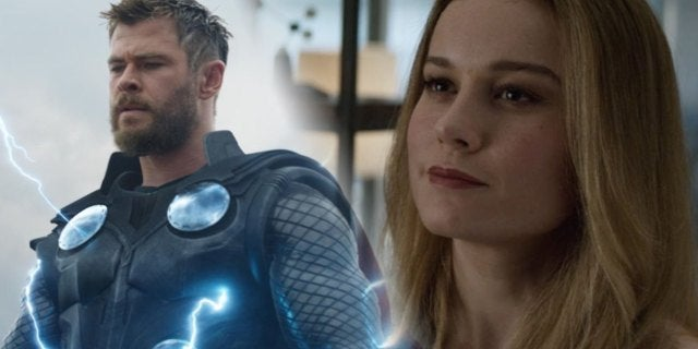 Avengers: Endgame Directors Address If Captain Marvel Is More Powerful Than Thor