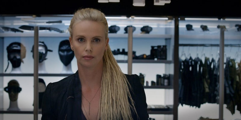 charlize theron fate of the furious cipher