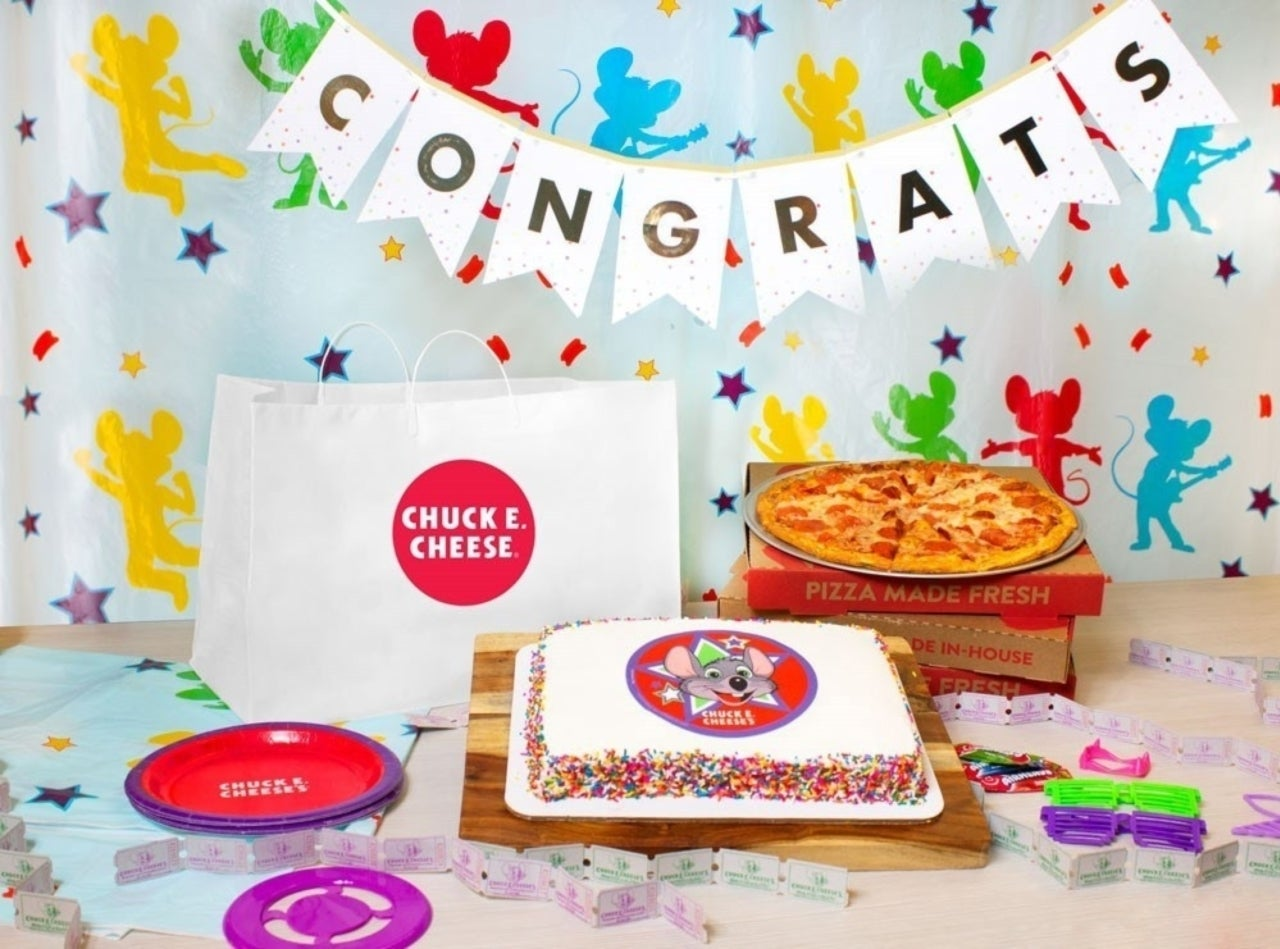 Chuck E. Cheese is Now Delivering Pizza Party Packs Straight to Your Door through DoorDash