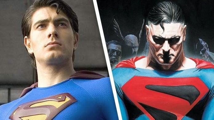 crisis on infinite earths brandon routh superman kingdom come