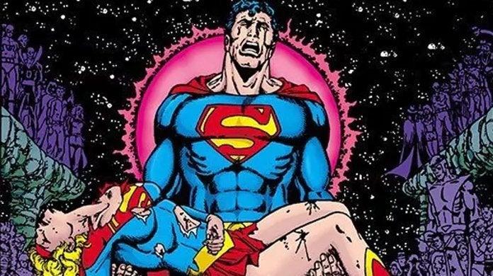 crisis on infinite earths superman supergirl