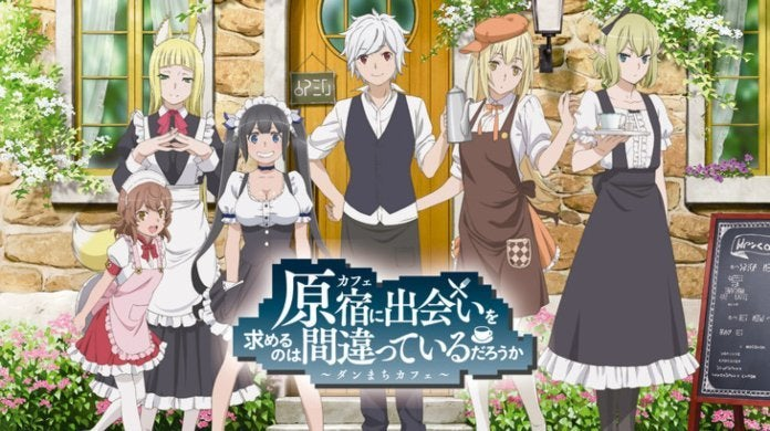 DanMachi Cafe Is It Wrong to Try to Pick Up Girls in a Dungeon_ Japan