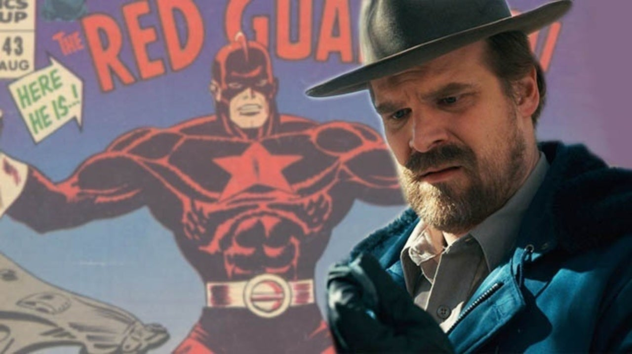 David Harbour Reveals Details of His Black Widow Character