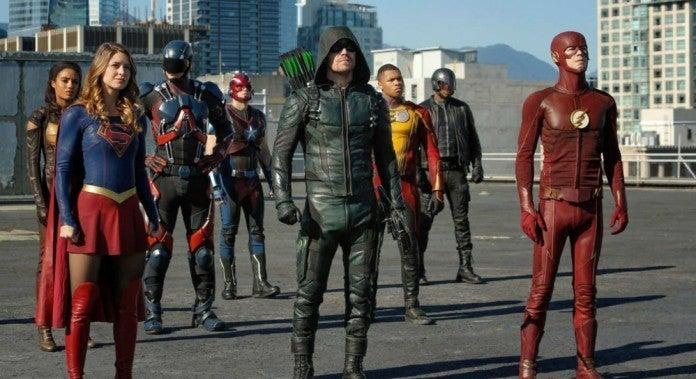 DC Arrowverse Crisis Infinite Earths