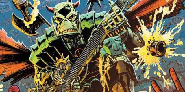 Death's Head Marvel Comics - Cover