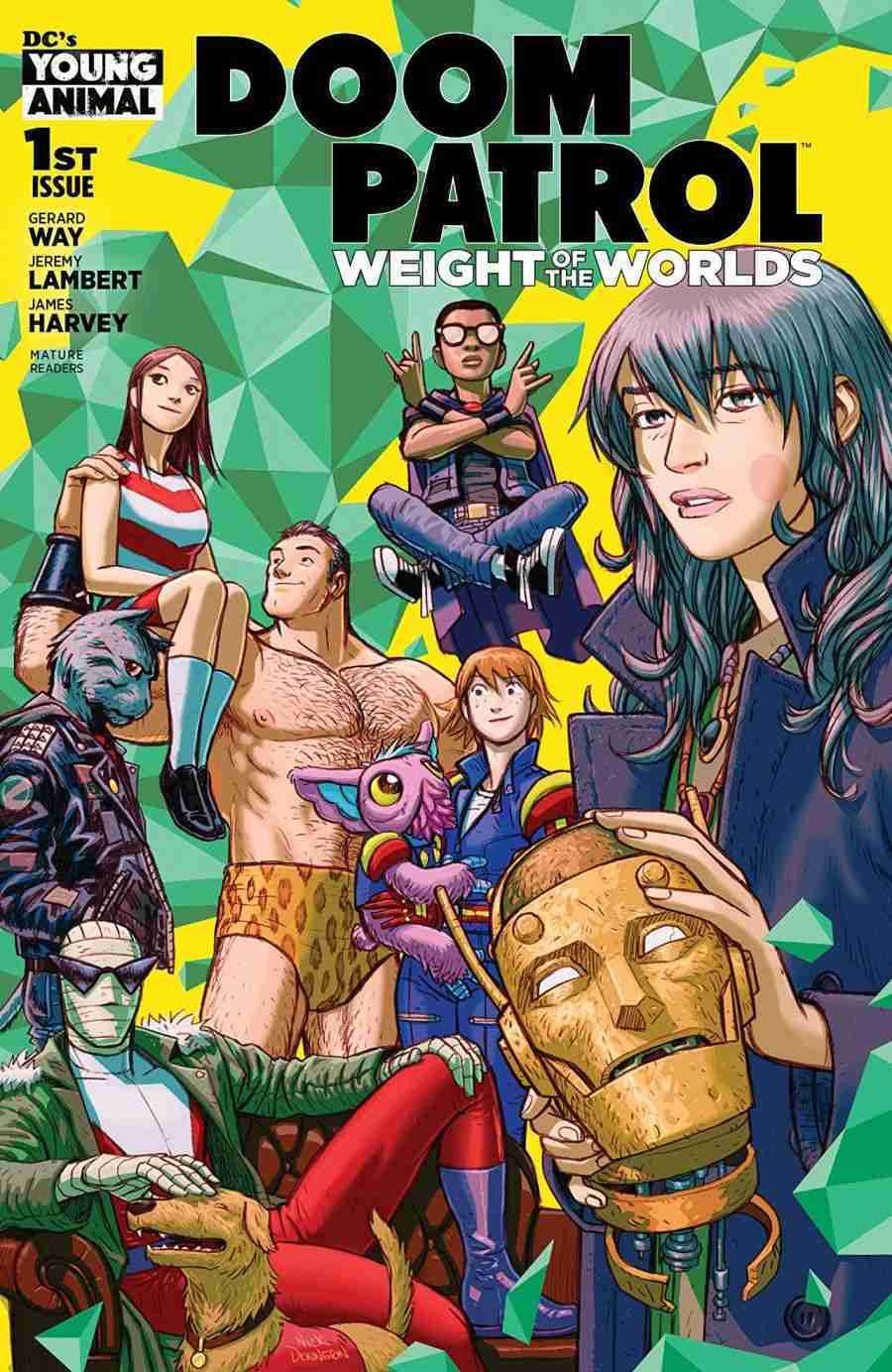 Doom Patrol Weight of the Worlds #1