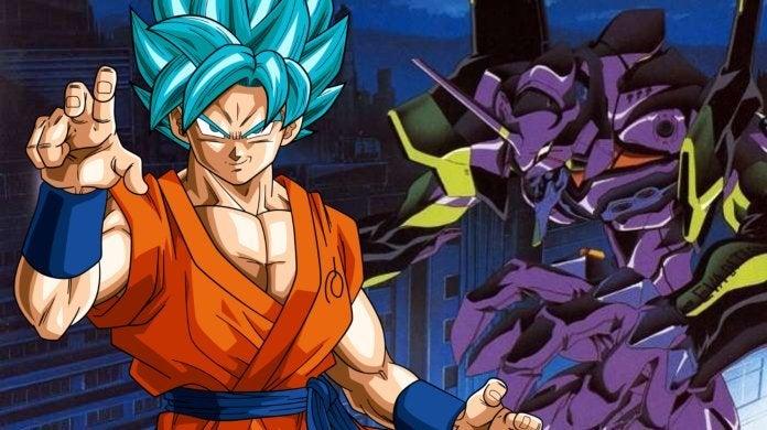 Dragon Ball Neon Genesis Evangelion Goku