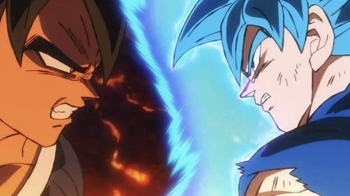 Dragon Ball Super Broly vs Goku