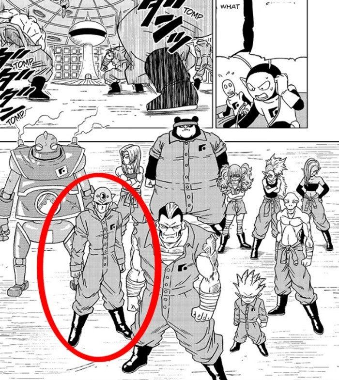 Dragon Ball Super Chapter 50 Universe 7 Hit Galactic Patrol Prisoners