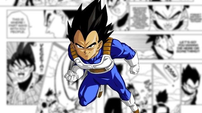 Dragon Ball Super Vegeta Instant Transmission
