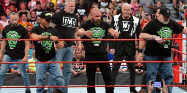 The Kliq Tried to Stop Their Raw Reunion Segment From Burying The O.C.