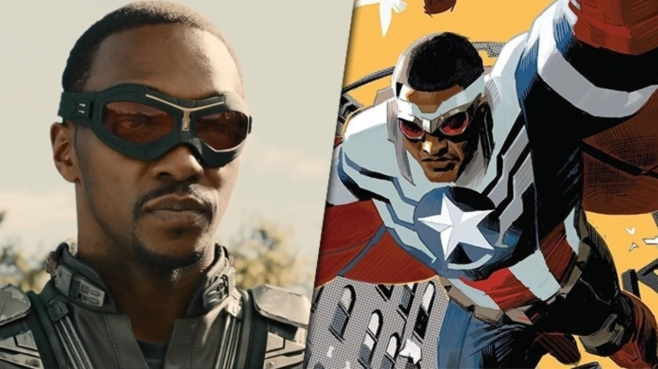 Anthony Mackie Confirms He Won't Be the New Captain America
