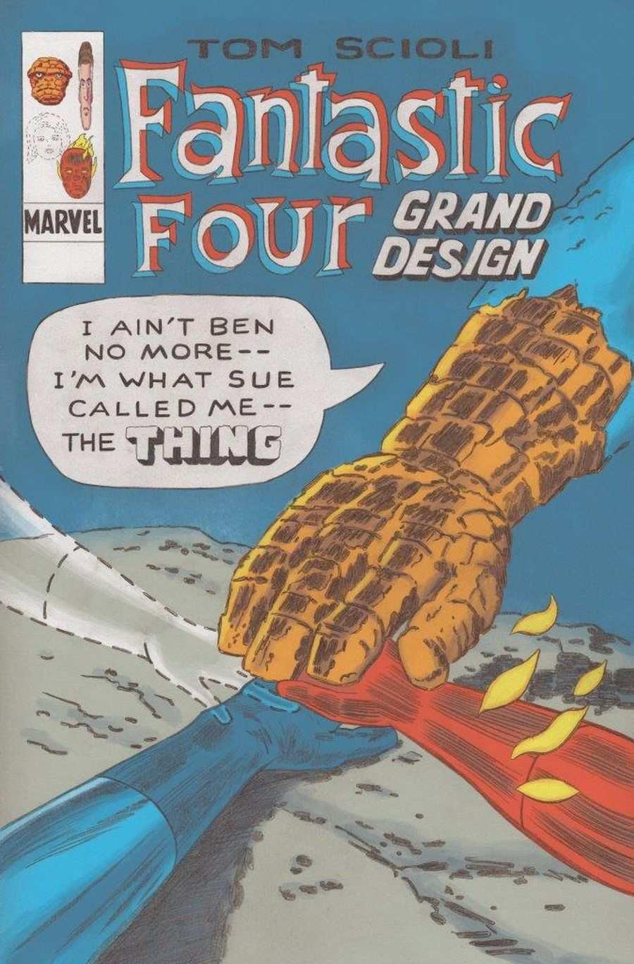 Fantastic Four Grand Design 01