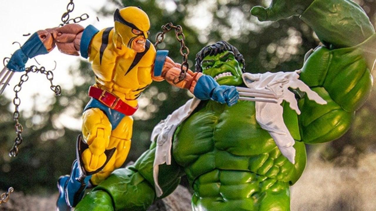 """Marvel leggende 6/"""" 80th ANNIVERSARIO HULK Vs Wolverine Action Figure 2-Pack"""