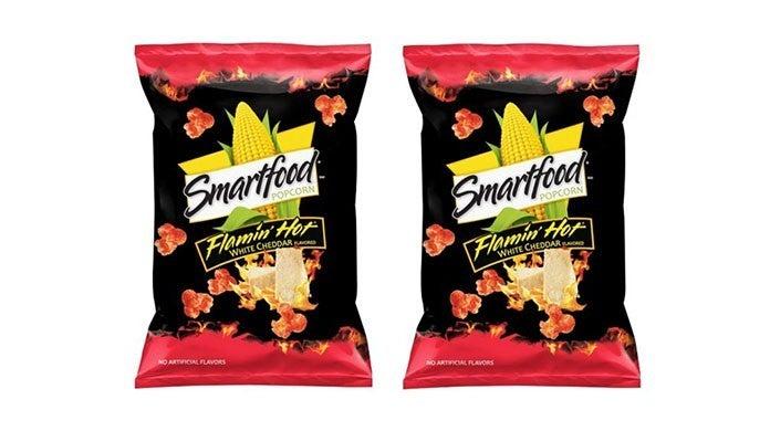 flamin hot white cheddar popcorn