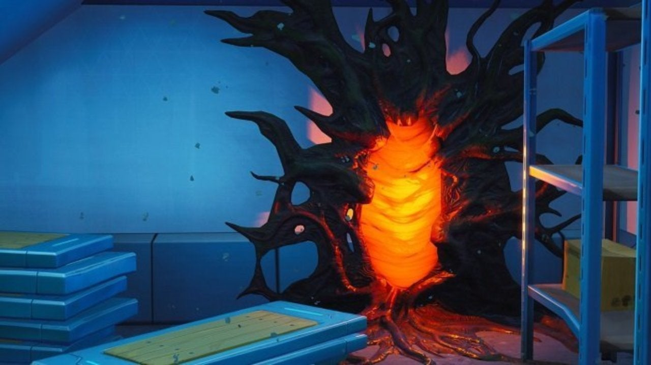 Stranger Things Portals Are Appearing in Fortnite