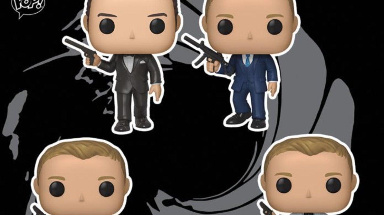 Funko Launches Daniel Craig and Pierce Brosnan James Bond Pop Figures