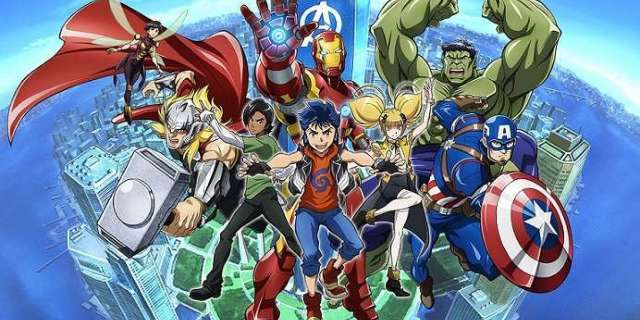 Marvel Anime Wows With Impressive Avengers Animation