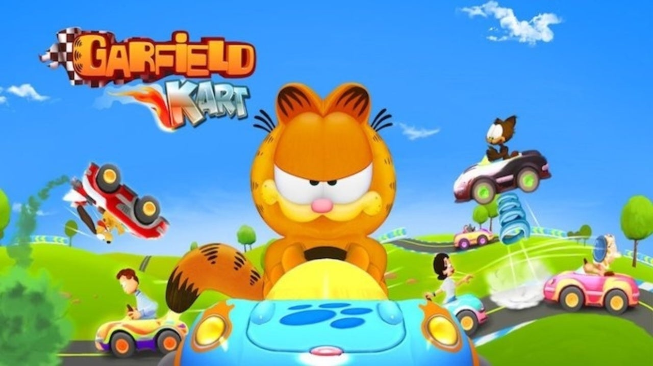 Garfield Kart Furious Racing Announced For Pc And Consoles
