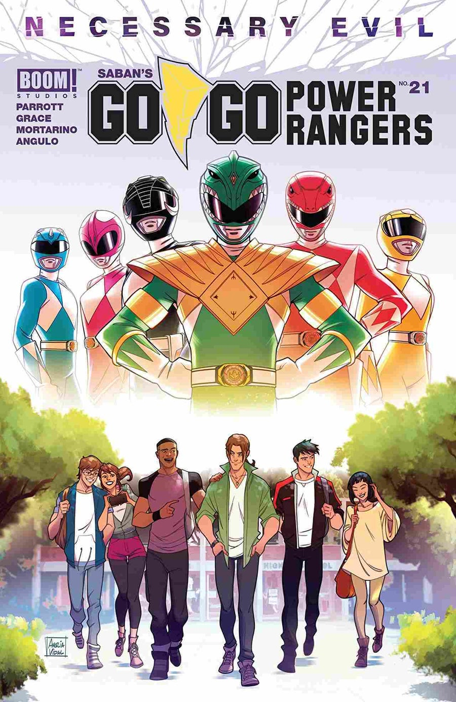 Go Go Power Rangers #21