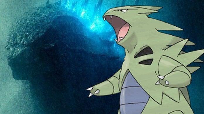 Godzilla Pokemon Tyranitar