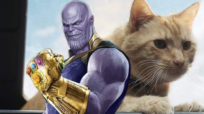 Goose-The-Cat-Vs-Thanos-Captain-Marvel