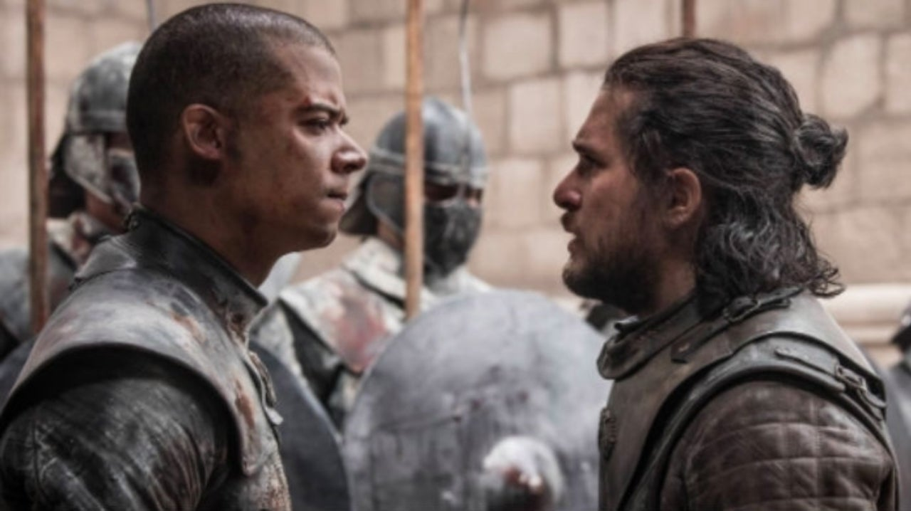 Game of Thrones SDCC19 Panel: Jacob Anderson Explains Why Grey Worm Didn't Kill Jon Snow