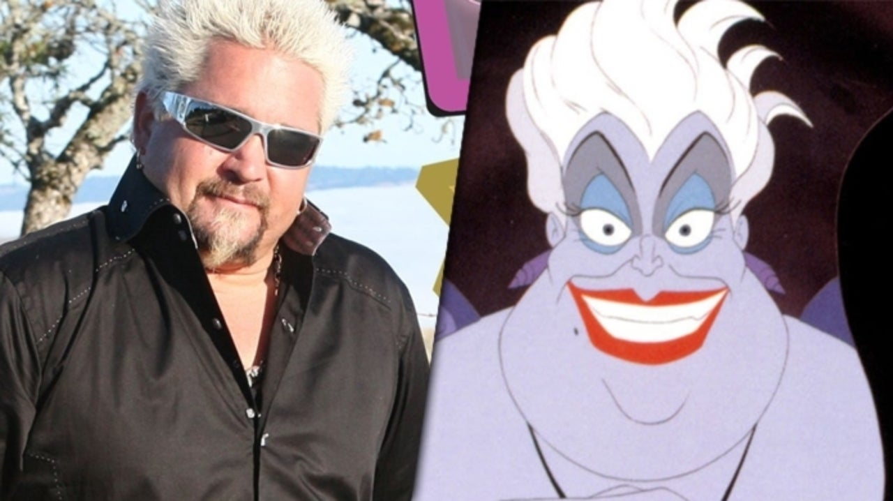 Guy Fiery Endorses The Little Mermaid Reboot Fans Casting Him as Ursula