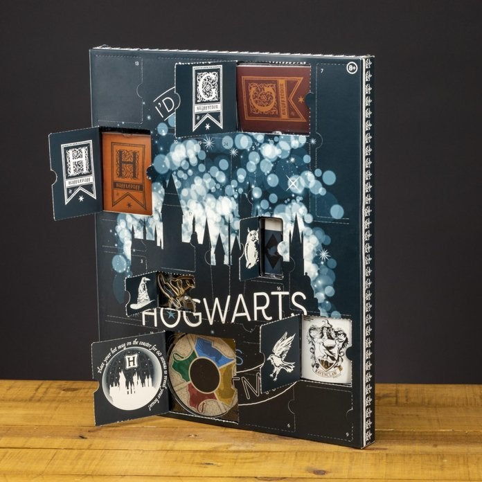 Harry Potter Advent Calendar.New Harry Potter Advent Calendars Are Stuffed With Toys Jewelry