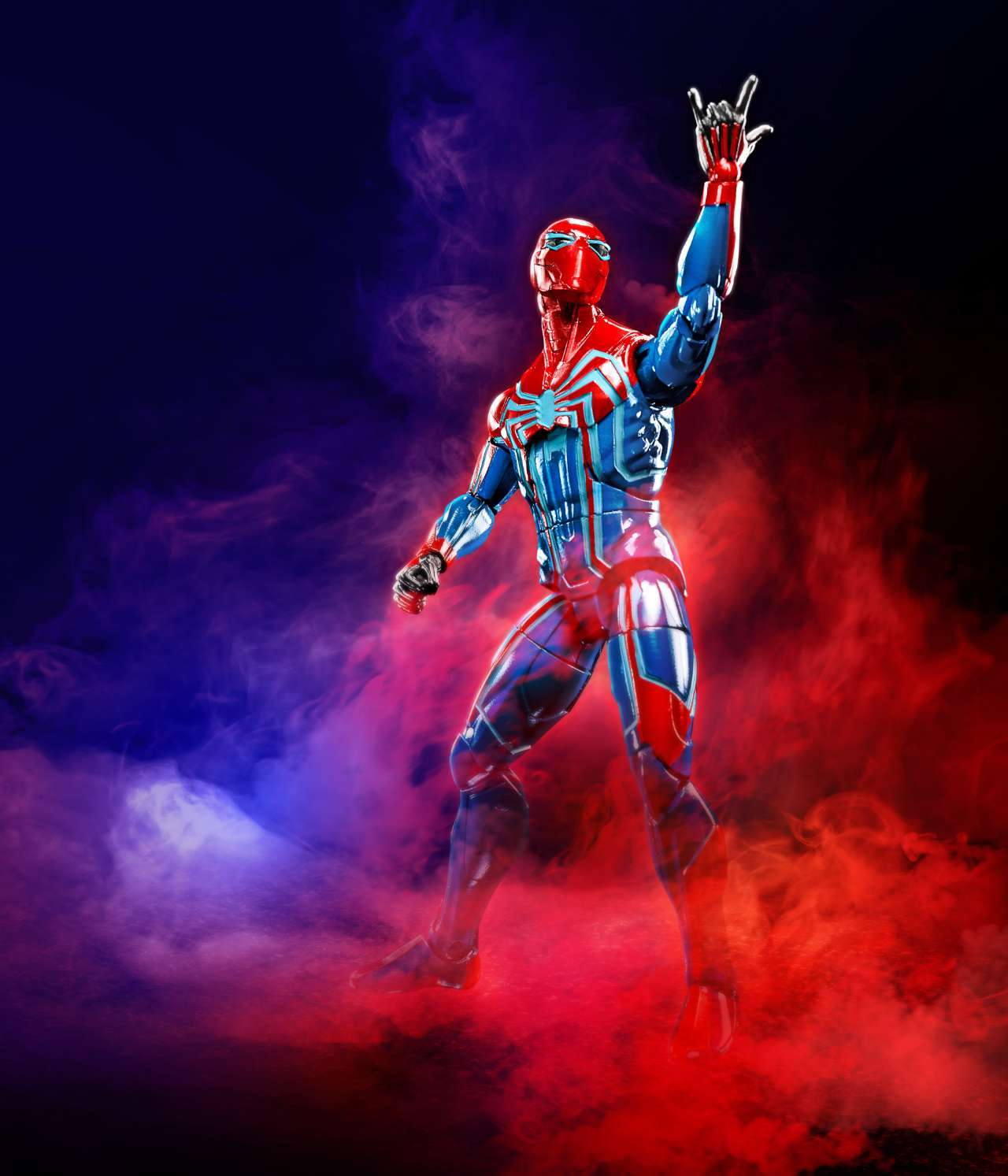 HASBRO MARVEL LEGENDS SERIES 6-INCH VELOCITY SUIT SPIDER-MAN