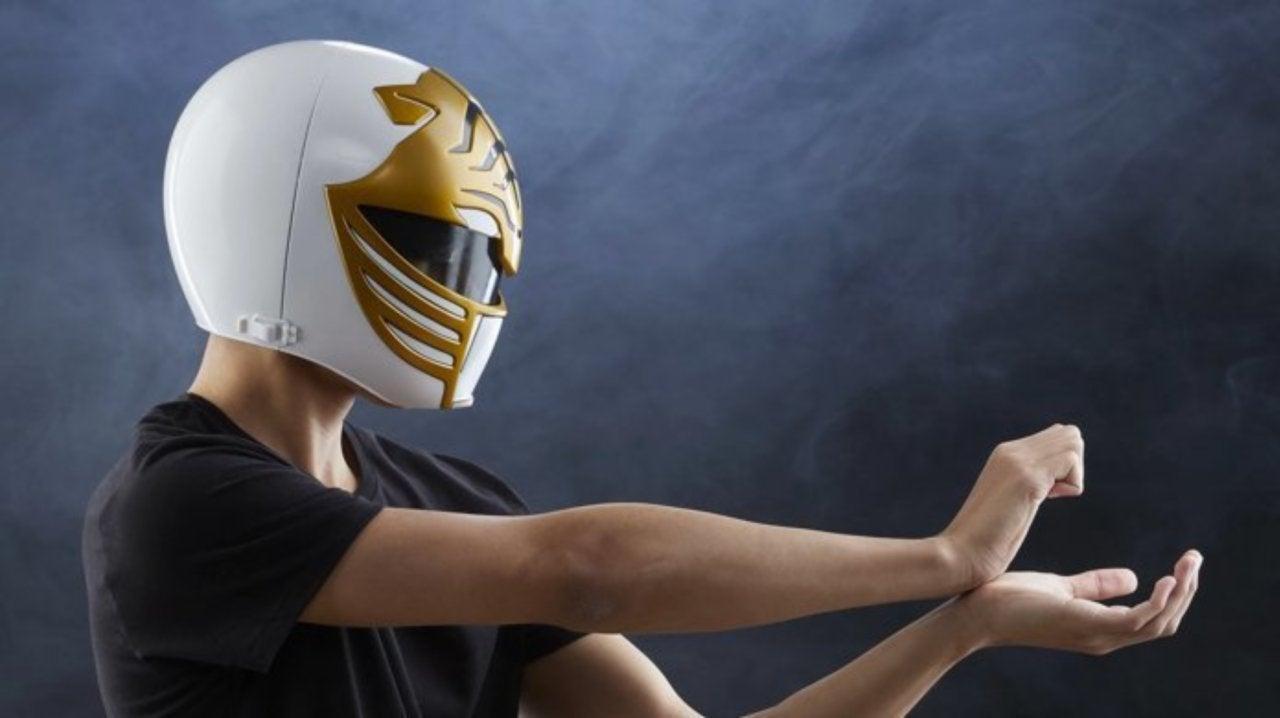 Power Rangers Lightning Collection White Ranger Helmet Now Available